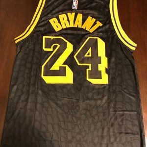 New Kobe Bryant Black Mamba Nike Jersey LA Lakers